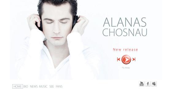 Alano Chošnau internetinė svetainė