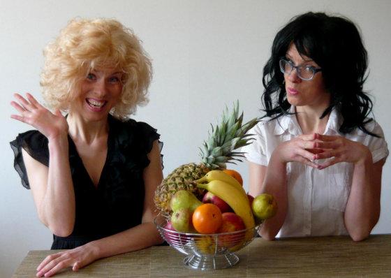Asmeninio albumo nuotr./Lietuvė Eglė ir italė Francesca