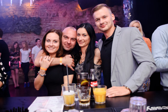 """Tomo Petrovskio nuotr./Šeštadienio linksmybės """"Mojo Lounge"""" klube"""