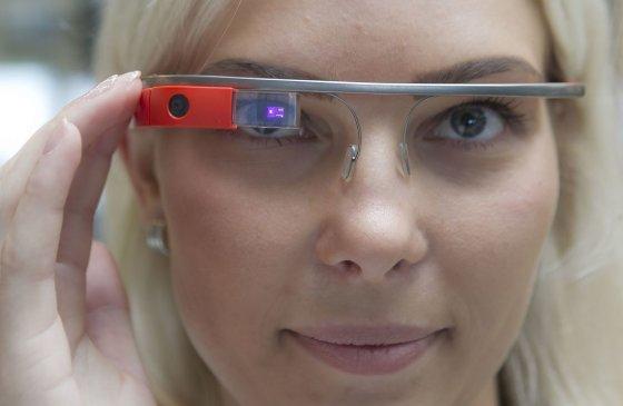 "Irmanto Gelūno/15min.lt nuotr./Išmanieji akiniai ""Google Glass"""