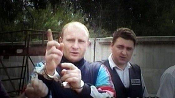 """""""Lietuvos ryto"""" televizijos nuotr./Nusikaltėlis pasakoja keturgubos žmogžudystės prekybos centre detales"""
