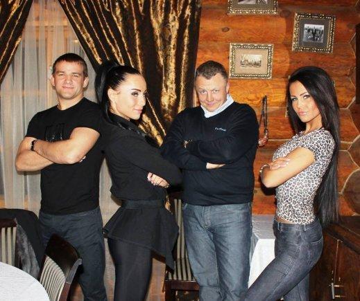 Asmeninio albumo nuotr./Aleksandras Kazakevičius, Greta Lebedeva, Gediminas Juodeika ir Indrė Burlinskaitė