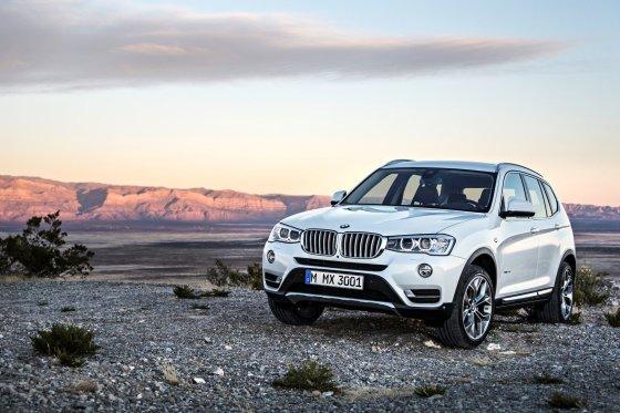 """""""BMW"""" nuotr./BMW X3"""