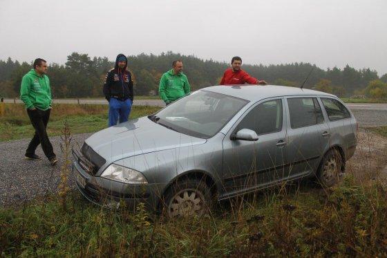 """Tomo Markelevičiaus nuotr./""""Rally Saaremaa 2014"""" trasų susirašymas"""