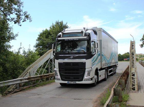 """Volvo trucks"" nuotr./""The Drivers' Fuel Challenge"""