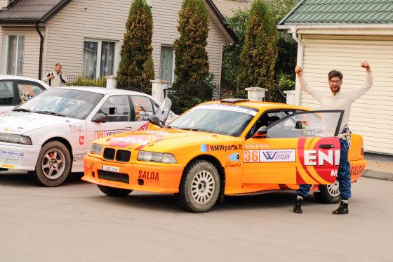 """""""Flameris Racing Eneos"""" komandaos nuotr./Karolis Raišys"""