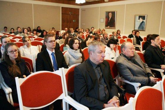 Zenono Ripinskio nuotr./Šiaulių universitete išrinkti prorektoriai