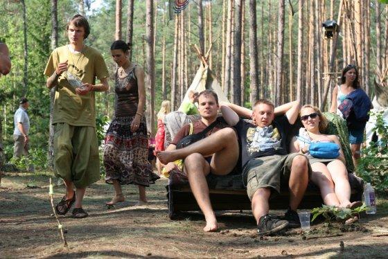 """Alvydo Januševičiaus nuotr./""""Yaga Gahering 2014"""" muzikos ir meno festivalis"""