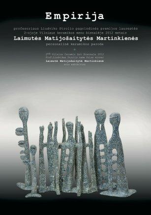 prof.L.Strolio premijos laureatės 2012 metais L. Matijošaitytės - Martinkienės parodos afiša