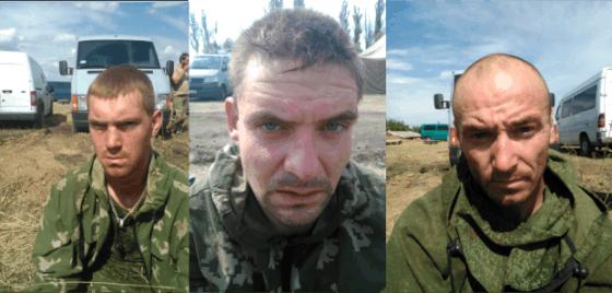 Ukrainos saugumo nuotr./Sulaikyti rusų kariai