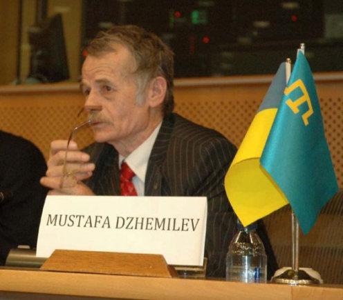 Wikipedia nuotr./Krymo totorių politikas Mustafa Cemilevas