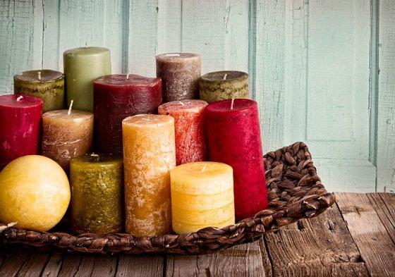 Shutterstock nuotr./Žvakės