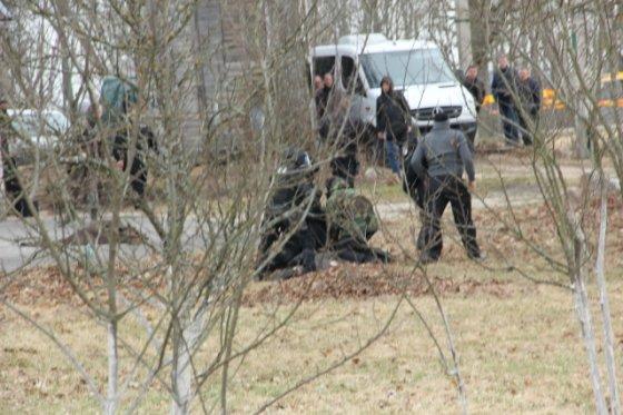 D.Zibolienės nuotr./Susisporgdinti grasinęs vyras sulaikytas