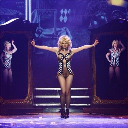 """Instagram"" nuotr./Britney Spears šou Las Vegase"