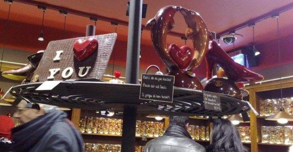 5 saldžiausi šokolado miestai pasaulyje