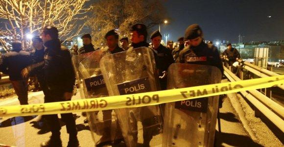 Galingas sprogimas supurtė Stambulo metro