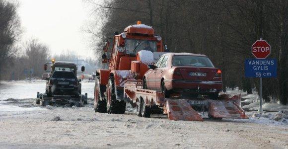 Potvynių iškamuoti rusniškiai nebenori būti atskirti