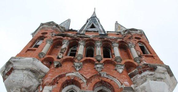 Paveldosaugininkai reikalauja Laimučio Pinkevičiaus saugoti Lentvario rūmus
