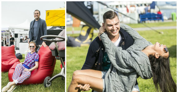 """Sporto festivalyje """"Sveika, Neringa"""" pramogavo ir garsenybės"""
