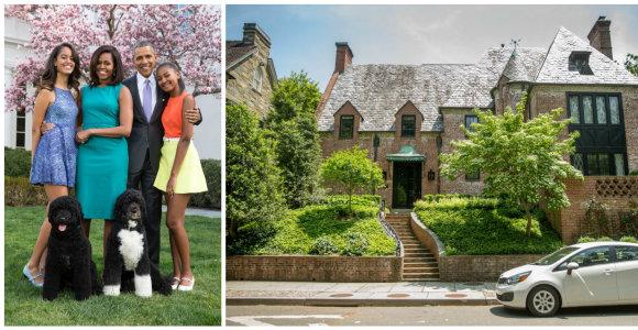 Apžiūrėkite namus, kuriuose baigęs kadenciją apsigyvens Barackas Obama