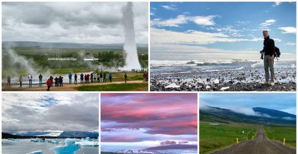 Pykšt-pokšt! Lediniai-ugniniai gamtos pokštai Islandijoje