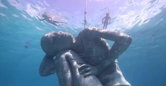 Lansarotėje bus atidarytas pirmasis Europoje povandeninis muziejus