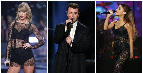 """Paskelbti 2015-ųjų """"Grammy"""" apdovanojimų nominantai"""