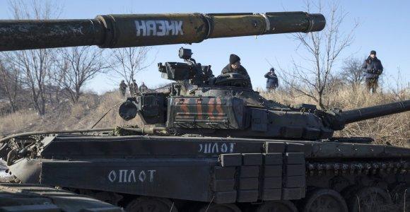 Donecko teroristų vadeiva liudija, kad Debalcevę užgrobė generolų vadovaujama Rusijos kariuomenė