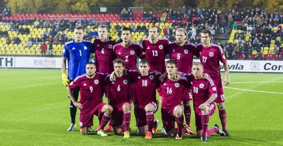 """""""Euro 2016"""" atrankoje Latvijos futbolininkai sužaidė lygiosiomis su čekais"""