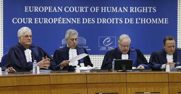Europos Žmogaus Teisių Teismas paruošė nemalonią staigmeną Kremliui