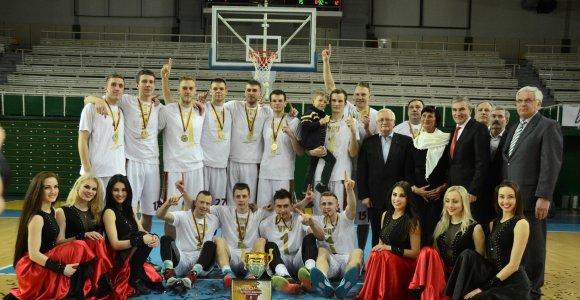 Žalgiriečių vedama VDU komanda po dviejų metų pertraukos susigrąžino LSKL čempionų titulus