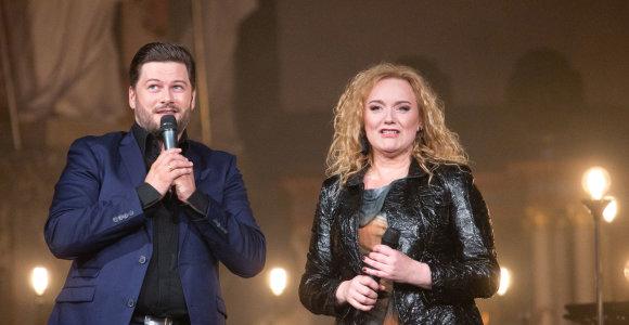 50-ojo jubiliejaus proga Rositą Čivilytę scenoje sveikino Merūnas Vitulskis, mokiniai ir kolegos