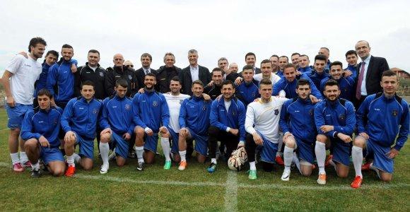 Kosovas ir Gibraltaras priimti į FIFA