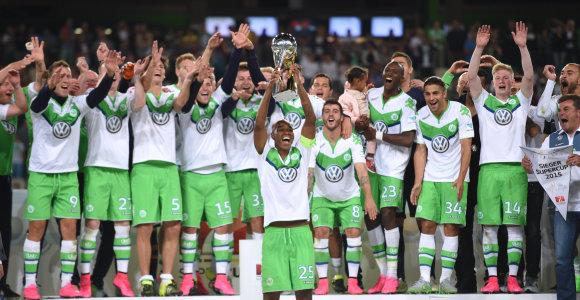 """""""Lordas"""" Bendtneris atnešė """"Wolfsburg"""" pergalę prieš """"Bayern"""" ir Vokietijos Supertaurę"""