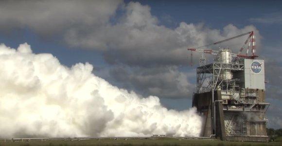 Dar vienas žingsnis Marso link – sėkmingai ištestuotas naujas raketos variklis