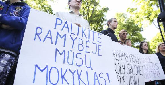 Rugsėjo 2 dieną streikuoti ketinančių vaikų tėvams gresia įspūdingos baudos: nuo 289 iki 579 eurų