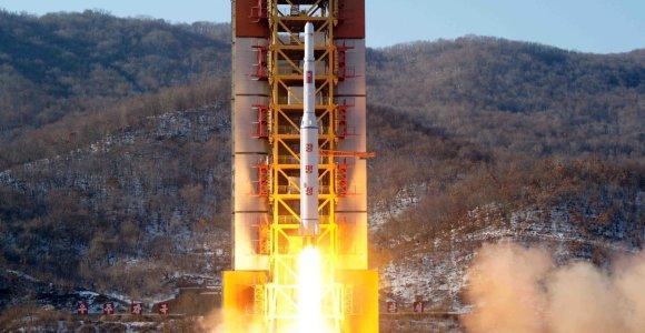 Šiaurės Korėja planuoja dar vieną branduolinės bombos bandymą?