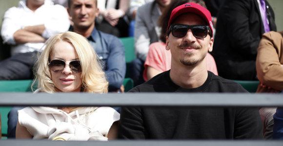 """Novaką Džokovičių """"Roland Garros"""" turnyre palaiko Zlatanas Ibrahimovičius"""
