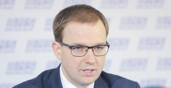 V.Sinkevičius: Seimo statuto nuostatos, saugančios V.Gapšį nuo apkaltos, prieštarauja Konstitucijai