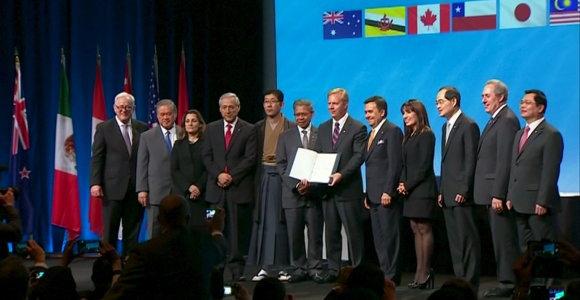 Pasirašyta Ramiojo vandenyno regiono laisvosios prekybos sutartis
