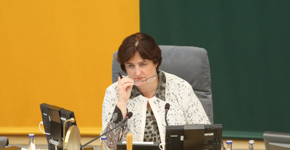 Seimo pirmininkė Loreta Graužinienė kviečiama skaityti pranešimą Ekonomikos forume Lenkijoje