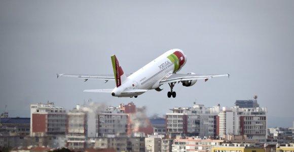 Klimato kaita gali prailginti skrydžius ir padidinti bilietų kainas