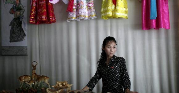 Komunistinės Šiaurės Korėjos moterys – rinkos ekonomikos pionierės