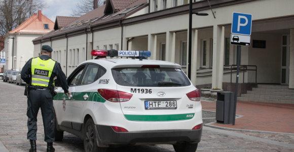 Dėl anonimo pranešimo apie bombą buvo evakuotas Marijampolės apylinkės teismas