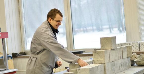 Lietuviai sukūrė ypatingą betoną – 8 kartus tvirtesnį ir lengvesnį už įprastą