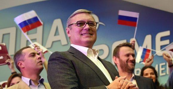 Maskvoje užpultas buvęs Rusijos premjeras Michailas Kasjanovas