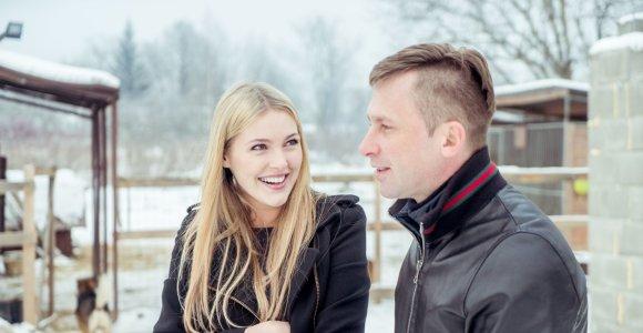 """Egidijus Dragūnas su modeliu Deimante Guobyte apsilankė prieglaudoje """"SOS gyvūnai"""""""