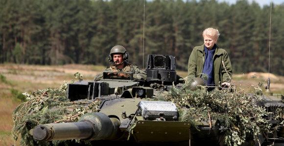 Dalia Grybauskaitė: turint tokį pasienį ypač svarbu suvienyti jėgas