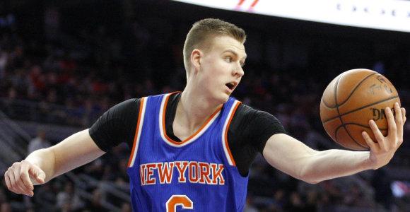 """NBA: Kristapo Porzingio dvigubas dublis ir laiminga """"Clippers"""" pabaiga"""