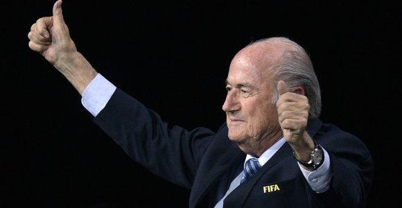 Seppo Blatterio įsuktas korumpuotas FIFA ratas nežada sustoti